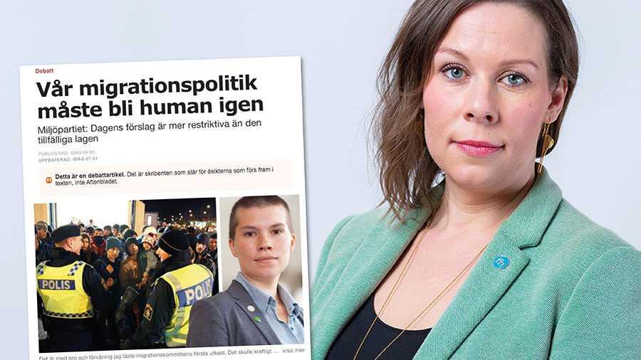 Det finns en klar majoritet i både riksdagen och i opinionen för en stram invandringspolitik. Moderaterna har lärt sig sin läxa – Miljöpartiet ska hållas borta från inflytande över svensk invandringspolitik, skriver Maria Malmer Stenergard.