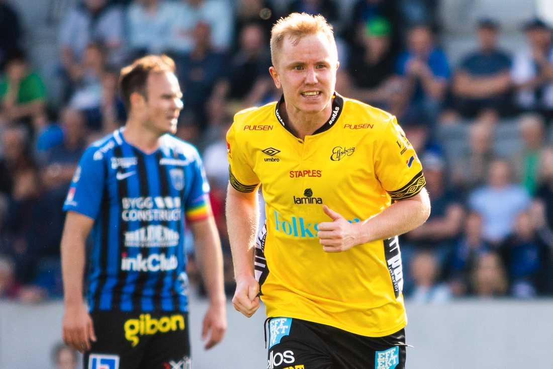Simon Lundevall har bland annat spelat för Elfsborg.