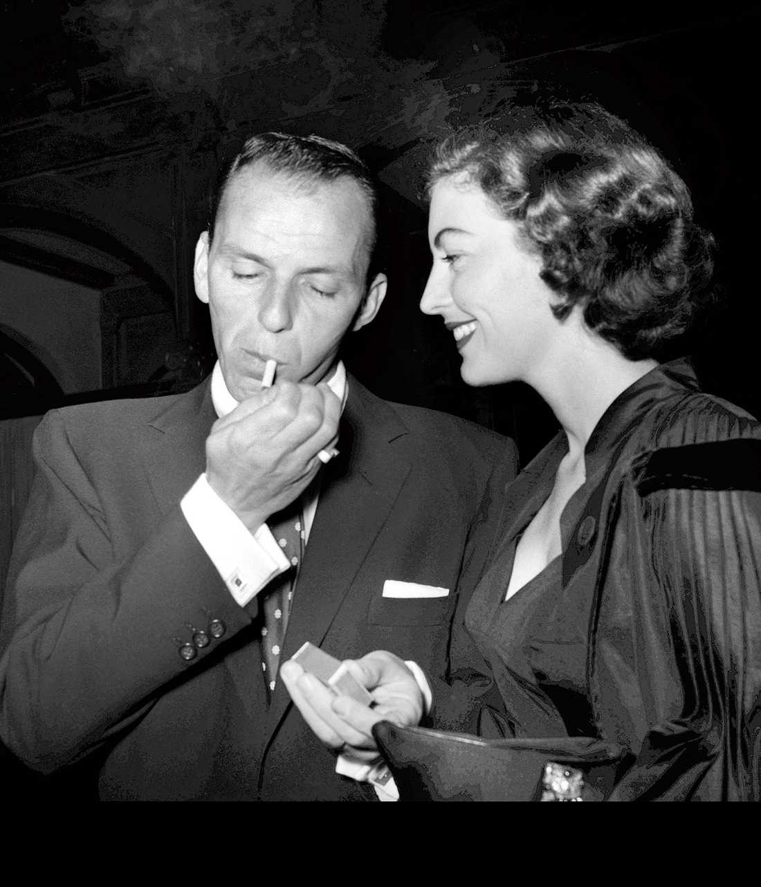 Frank Sinatra och Ava Gardner.