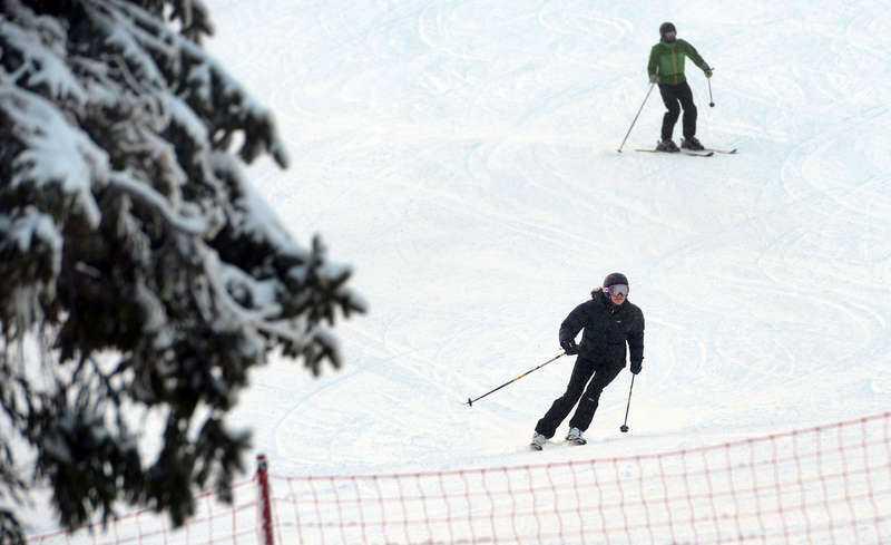 Victoria är en van skidåkare. Bilden är tagen vid ett tidigare tillfälle.