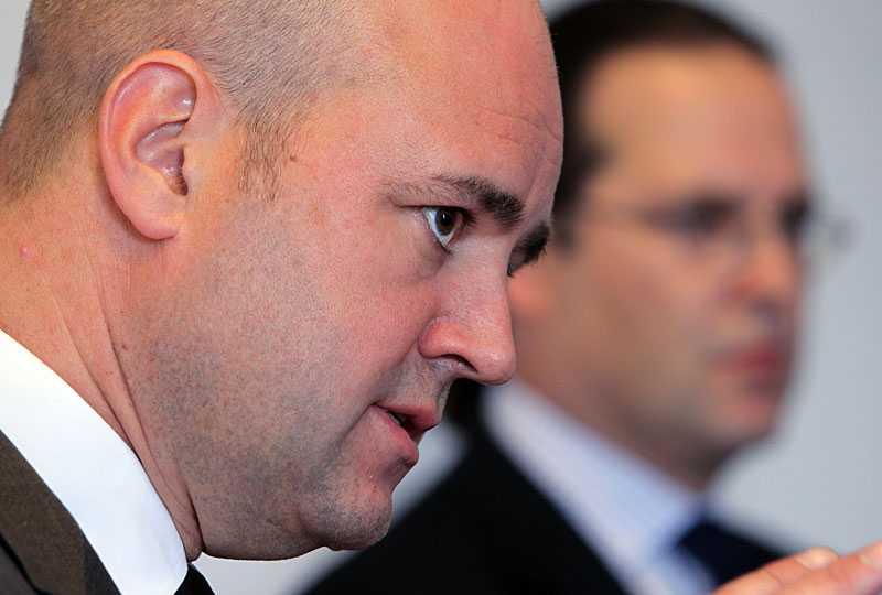 Reinfeldt och Borg.