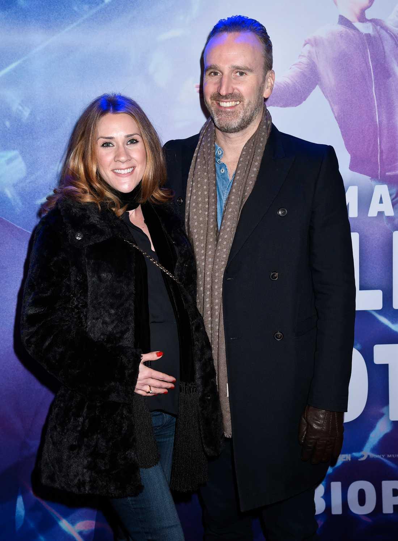 Jeanette Carlsson tillsammans med maken Jörgen Gullbrandsson