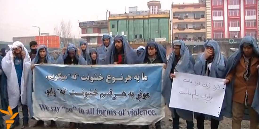 Foto: Faksimil Radio Free Afghanistan.