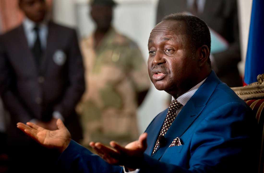 Den centralafrikanske expresidenten François Bozizé. Arkivbild.