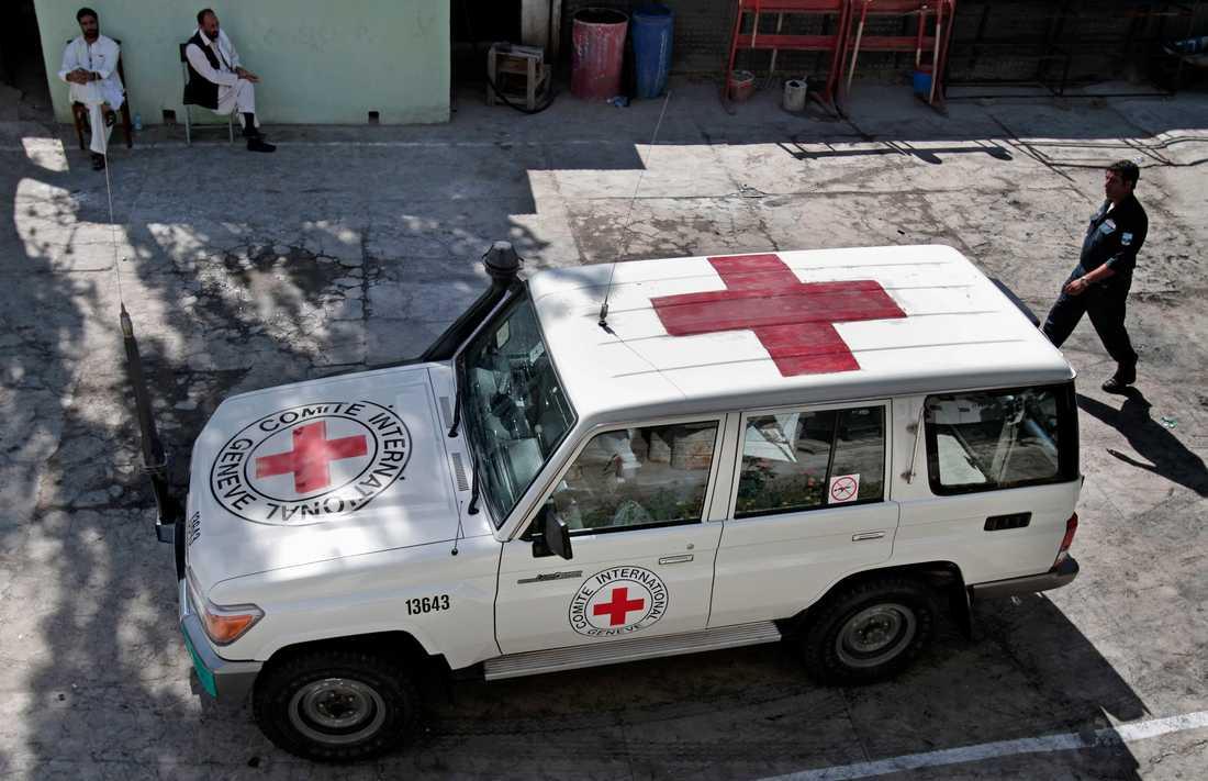 Enligt Röda Korset är de dödade afghanska medborgare.