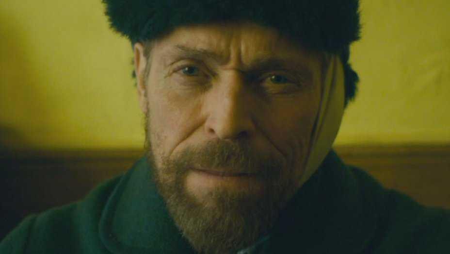 Willem Dafoe som van Gogh.