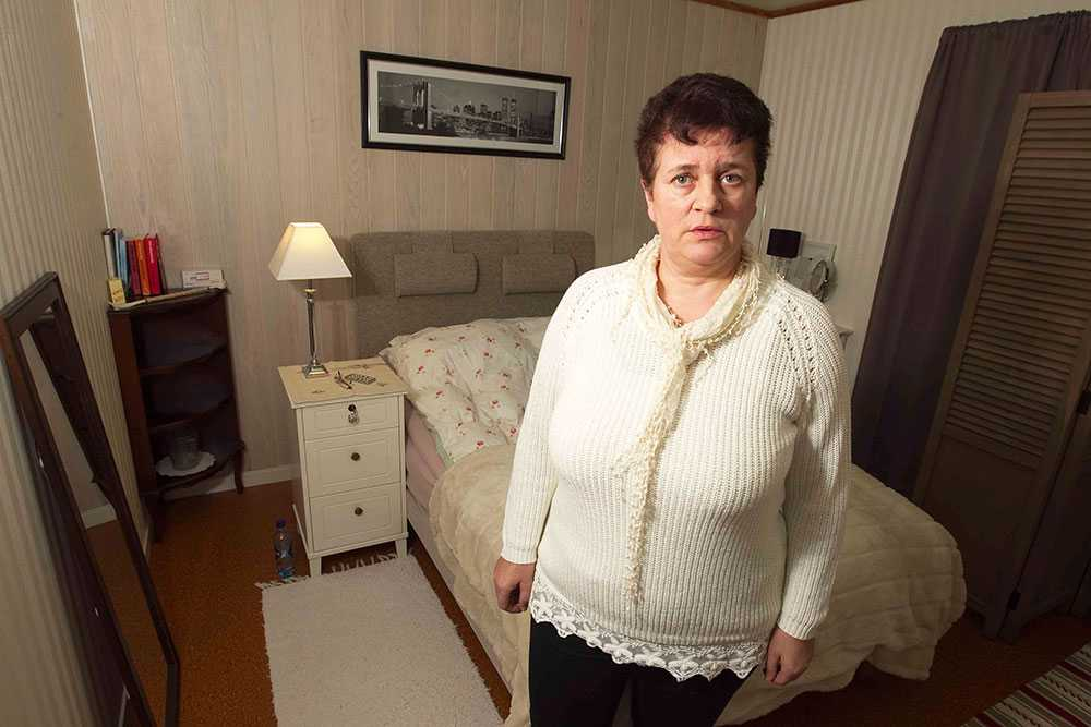 Övervakningen uppdagades hösten 2013 när Ann-Birgit Strand skulle möblera om.