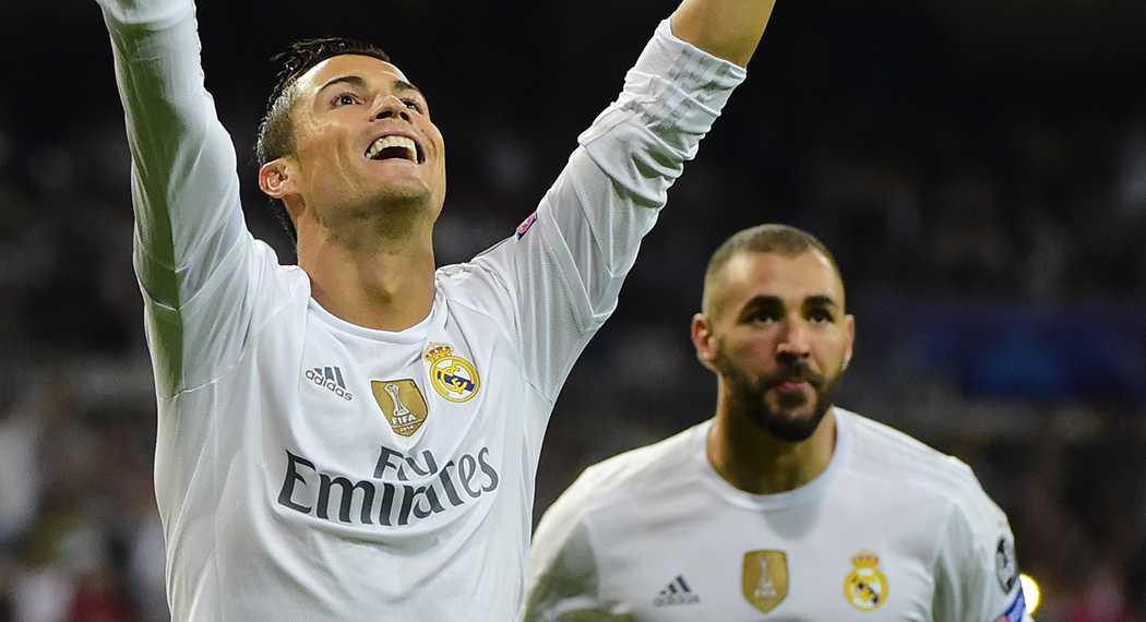 Ronaldo och Benzema.