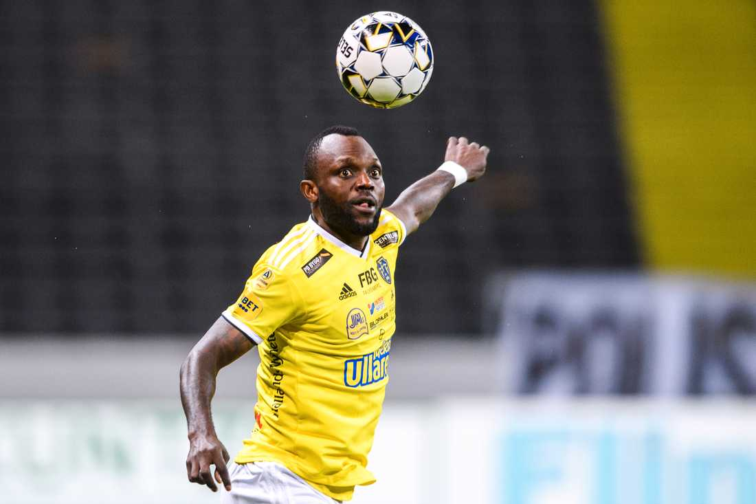 Chibuike blev femmålsskytt för Falkenberg.