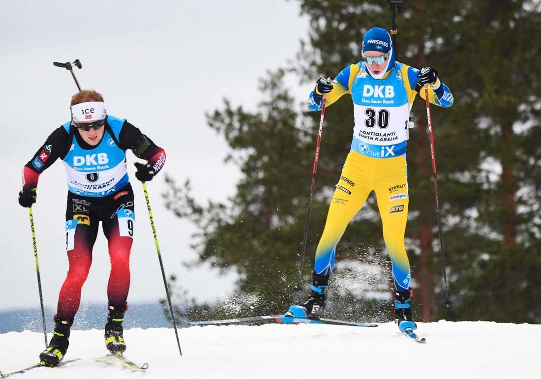 Sebastian Samuelsson imponerade i Kontiolahti.