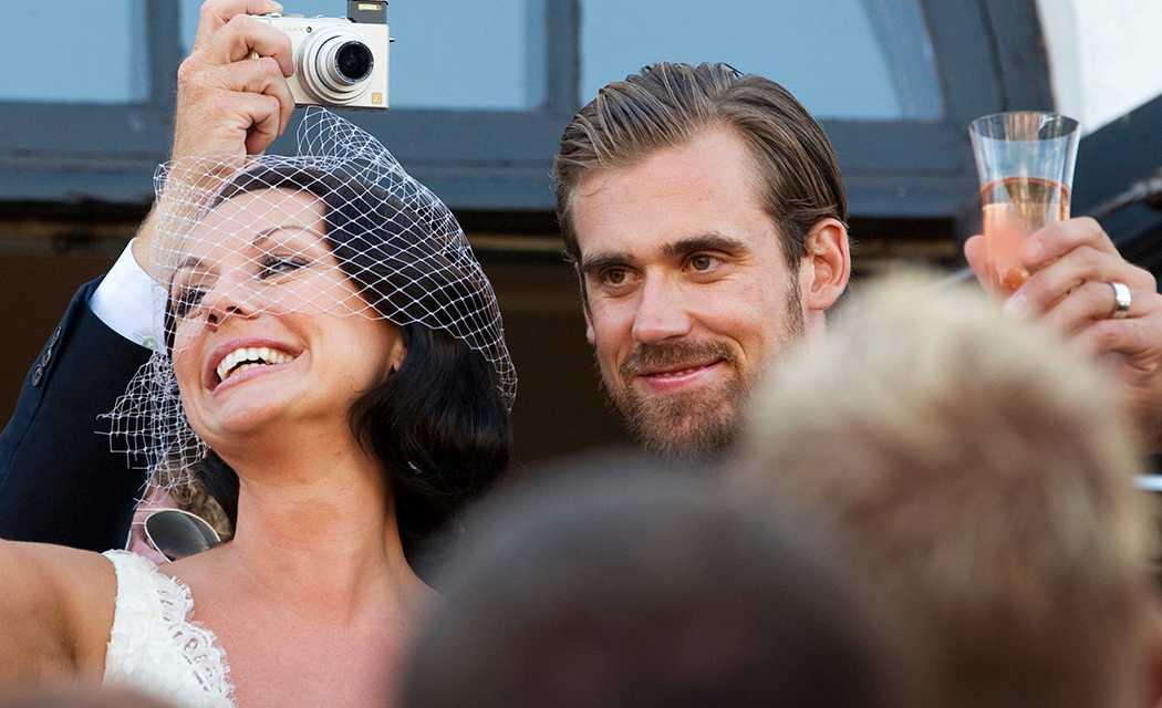 Emma och Henrik Zetterberg gifte sig 2010.