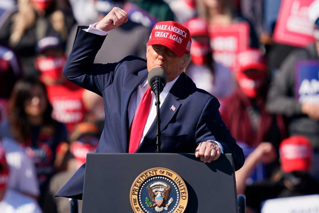 Donald Trump har i sina väljares ögon nått stora framgångar.