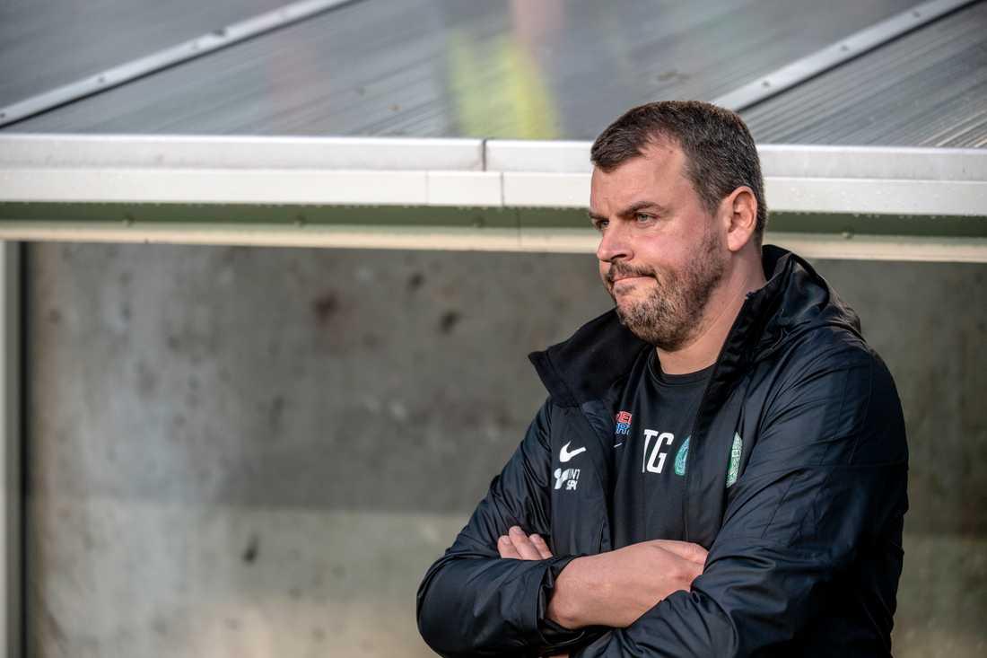 Thomas Gabrielsson får lämna Västerås SK. Arkivbild.