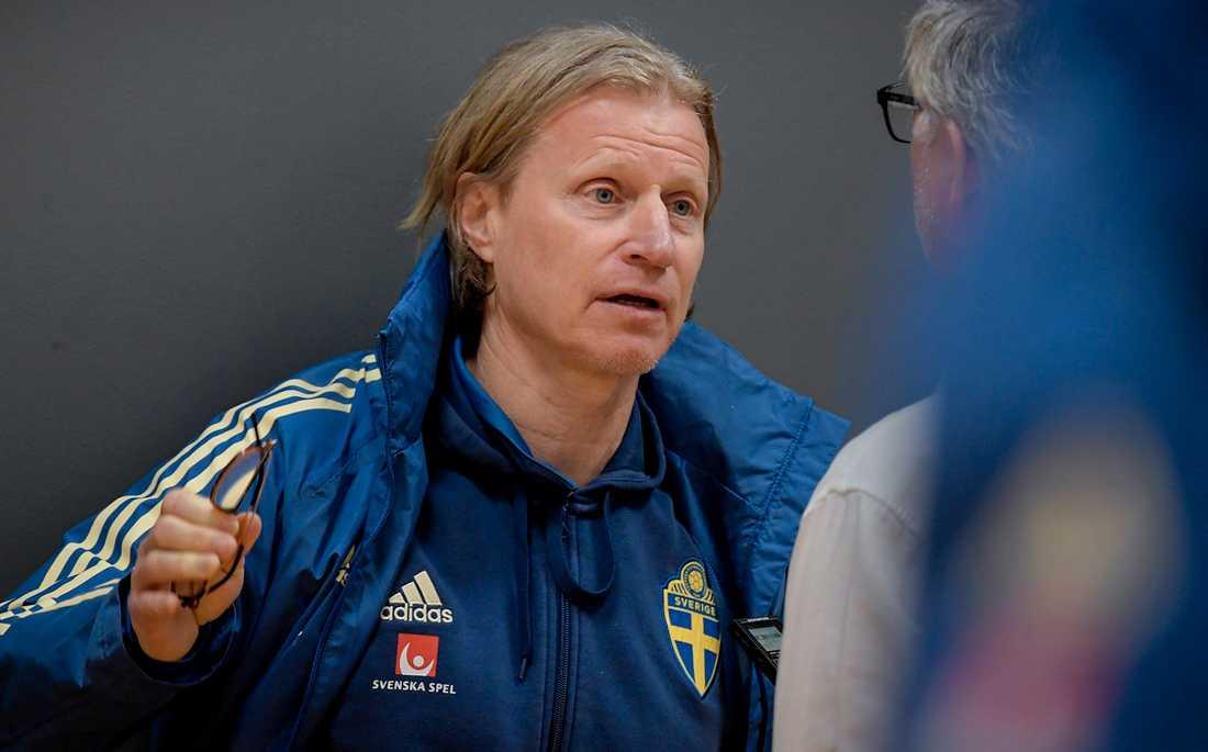 Landslagschefen Stefan Pettersson
