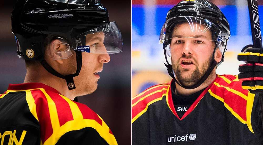 Nyckelspelare som Nick Johnson och Simon Bertilsson är också skadade för Brynäs.