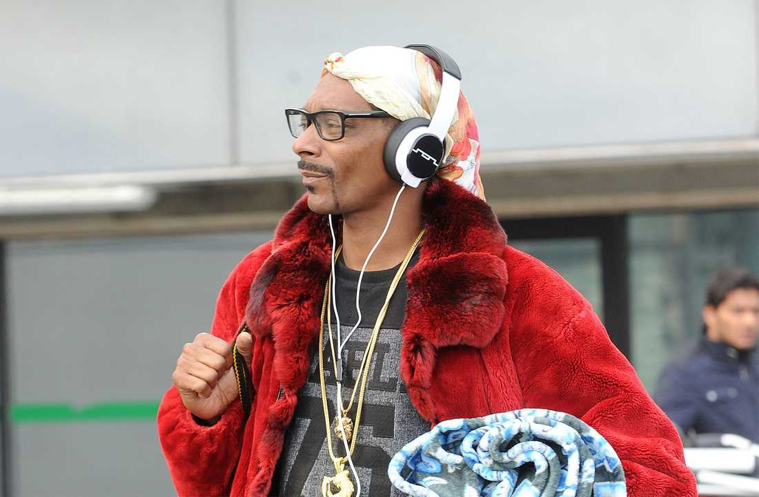 Snoop Dogg i London i december.