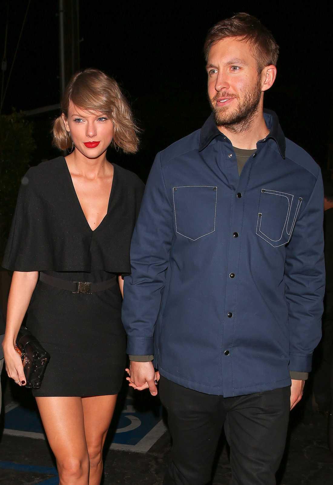 Taylor Swift och Calvin Harris