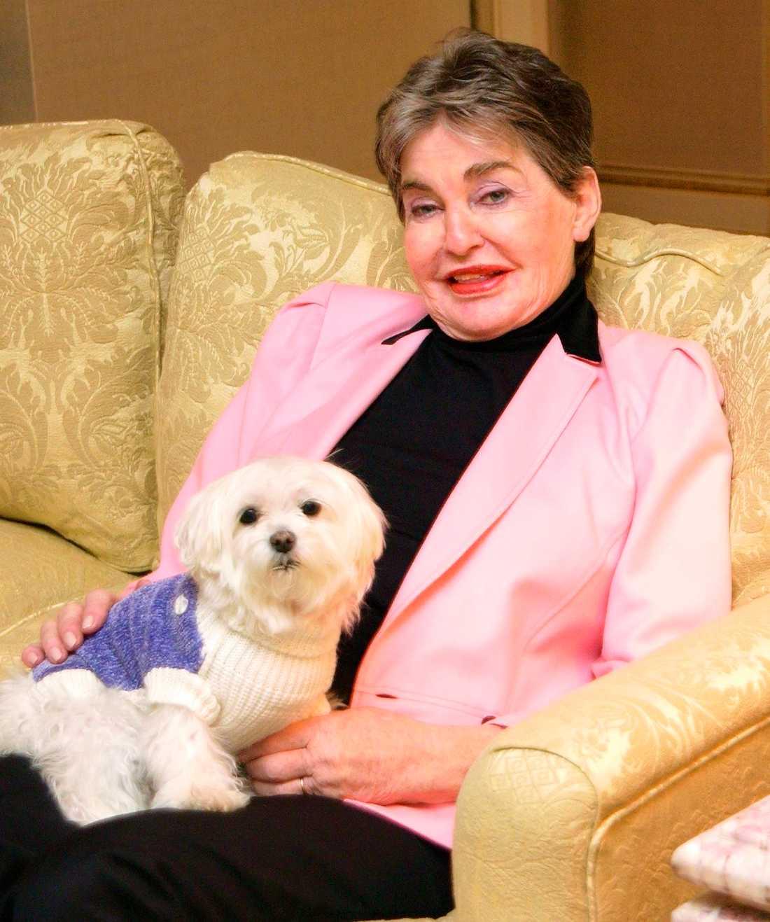 Hund värd miljoner Leona Helmsley testamenterade 81 miljoner kronor till knähunden Trouble.