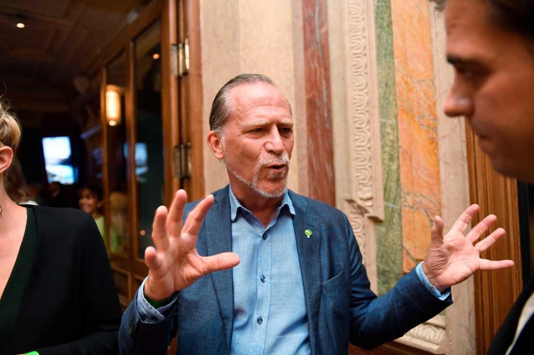 Daniel Helldén, trafikborgarråd för Miljöpartiet i Stockholms stad.