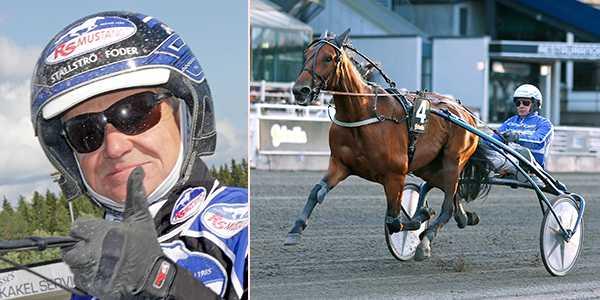 Per Lennartsson och Keira de Veluwe är en skrällspik på V86.
