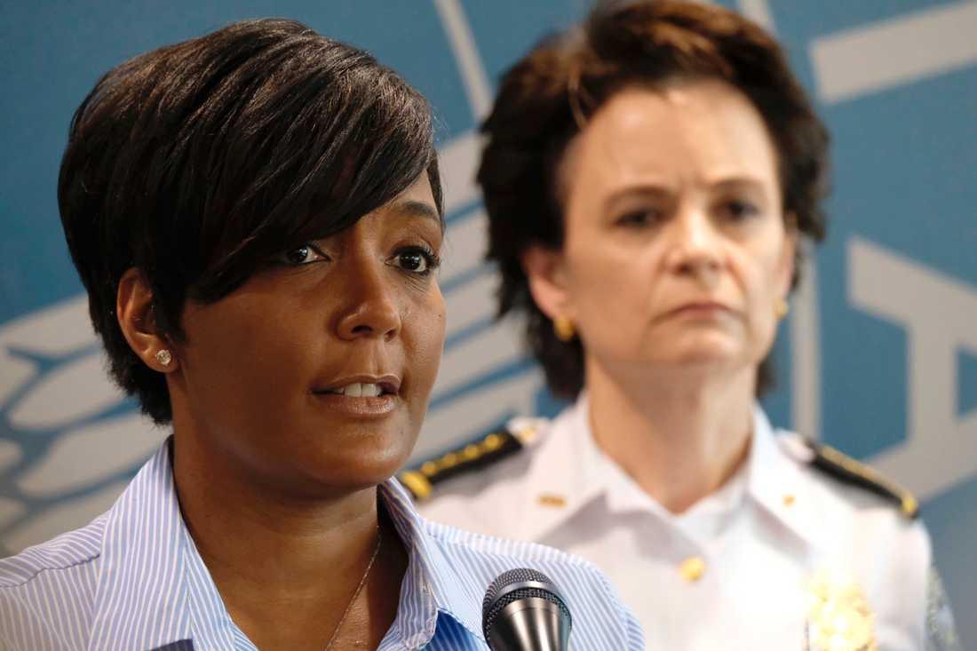 Keisha Lance Bottoms, borgmästare i staden Atlanta i Georgia.