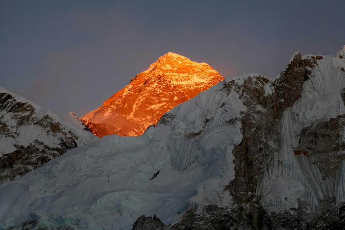Mount Everest är väldens högsta berg. Arkivbild.