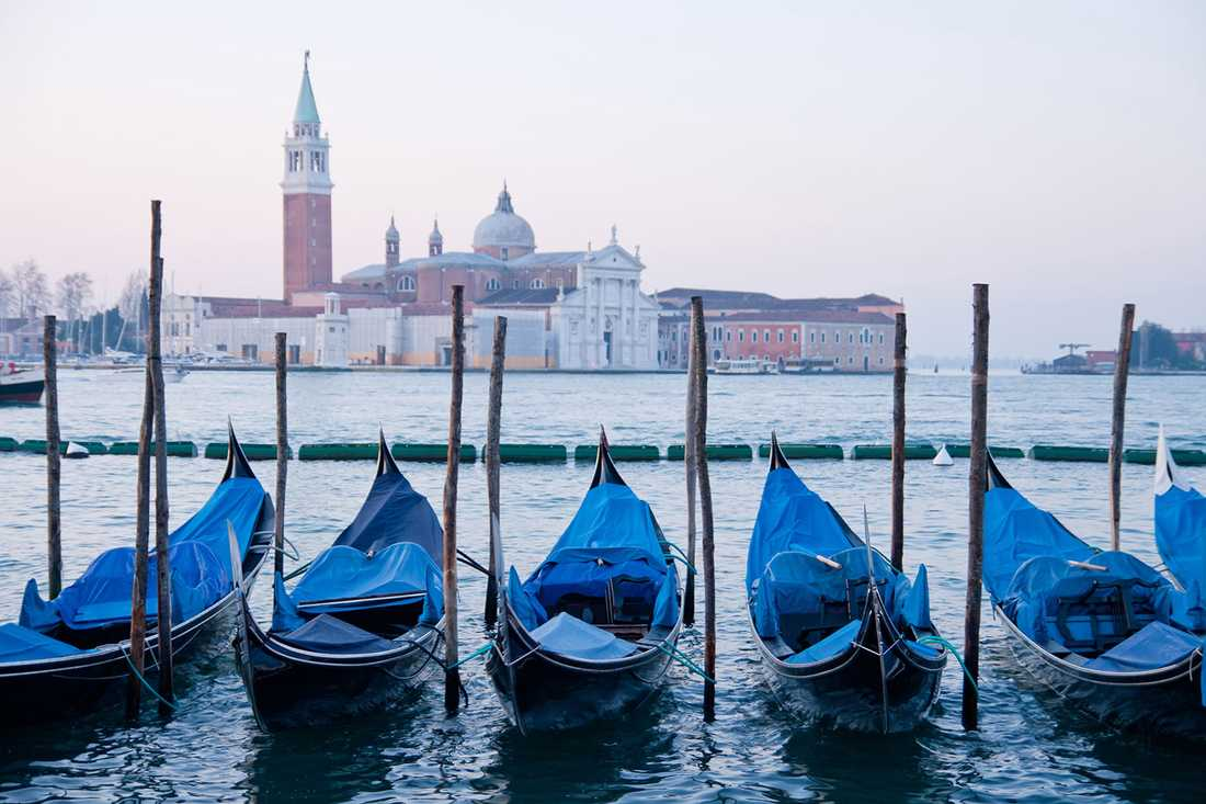 Gondolen var en gång det viktigaste transportmedlet i Venedig.