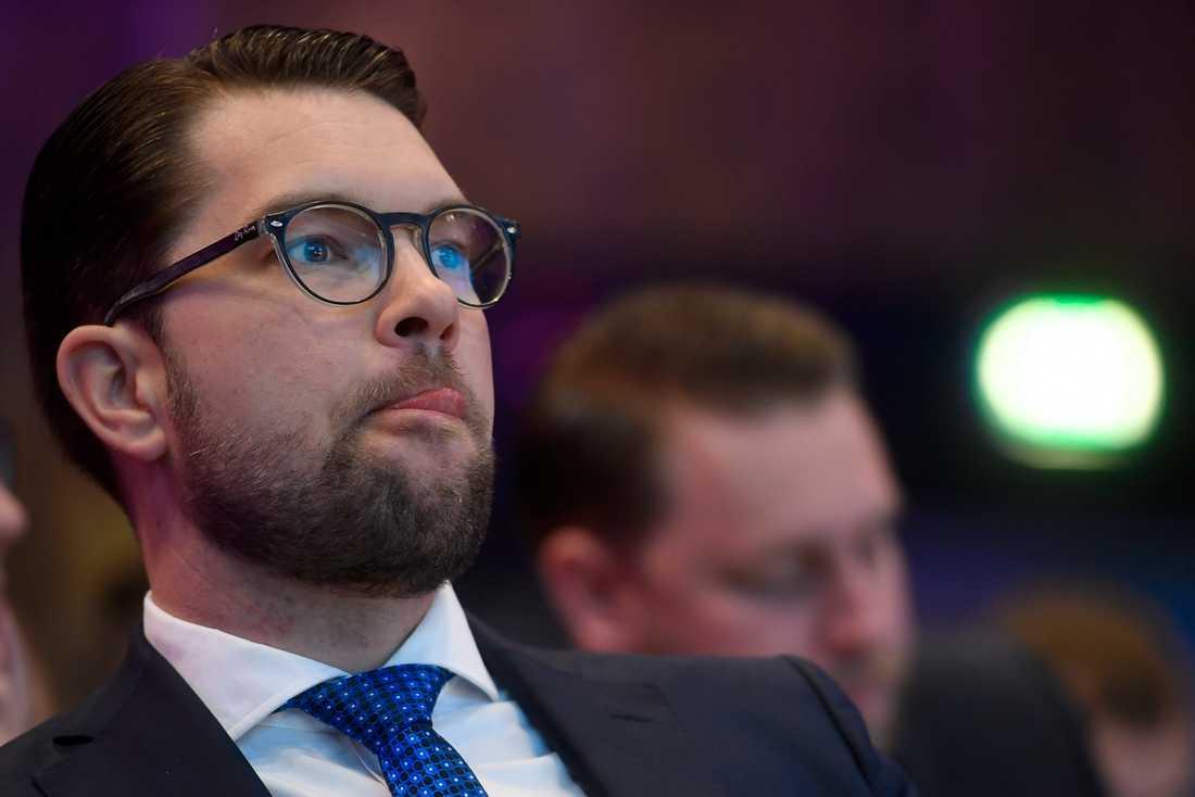 SD:s partiledare Jimmie Åkesson