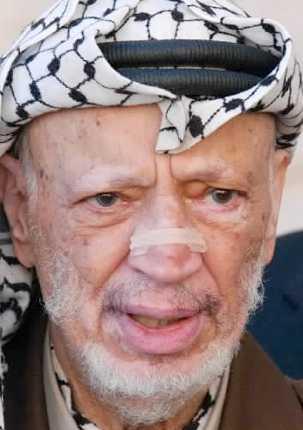 Yassir Arafat.
