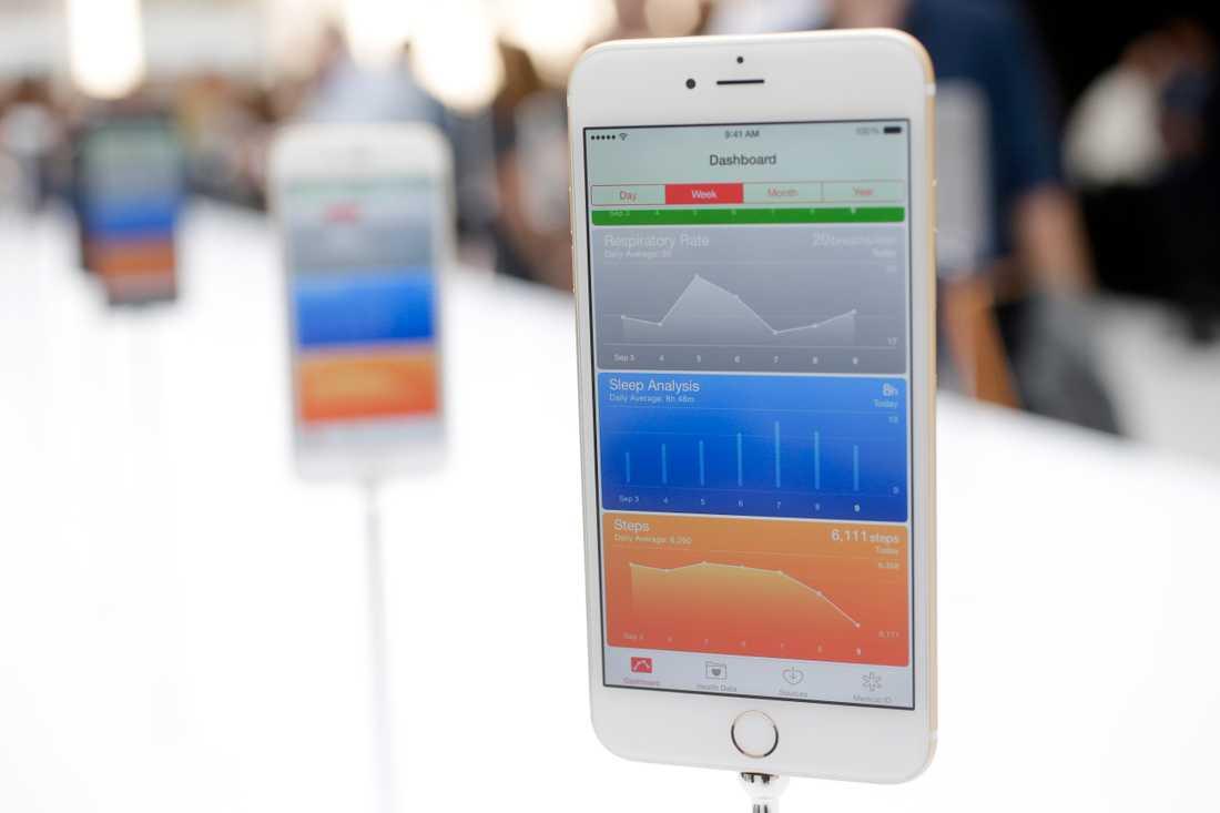 """Iphone släpptes 2014 och är enligt Apple """"den bästa telefonen någonsin"""""""