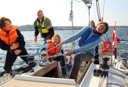 KIdnappade Familjen Quist Johansen, mamma Birgit Marie och pappa Jan, och deras tre barn, 13-åriga Naja och de två pojkarna Rune, 17 och Hjalte, 15.
