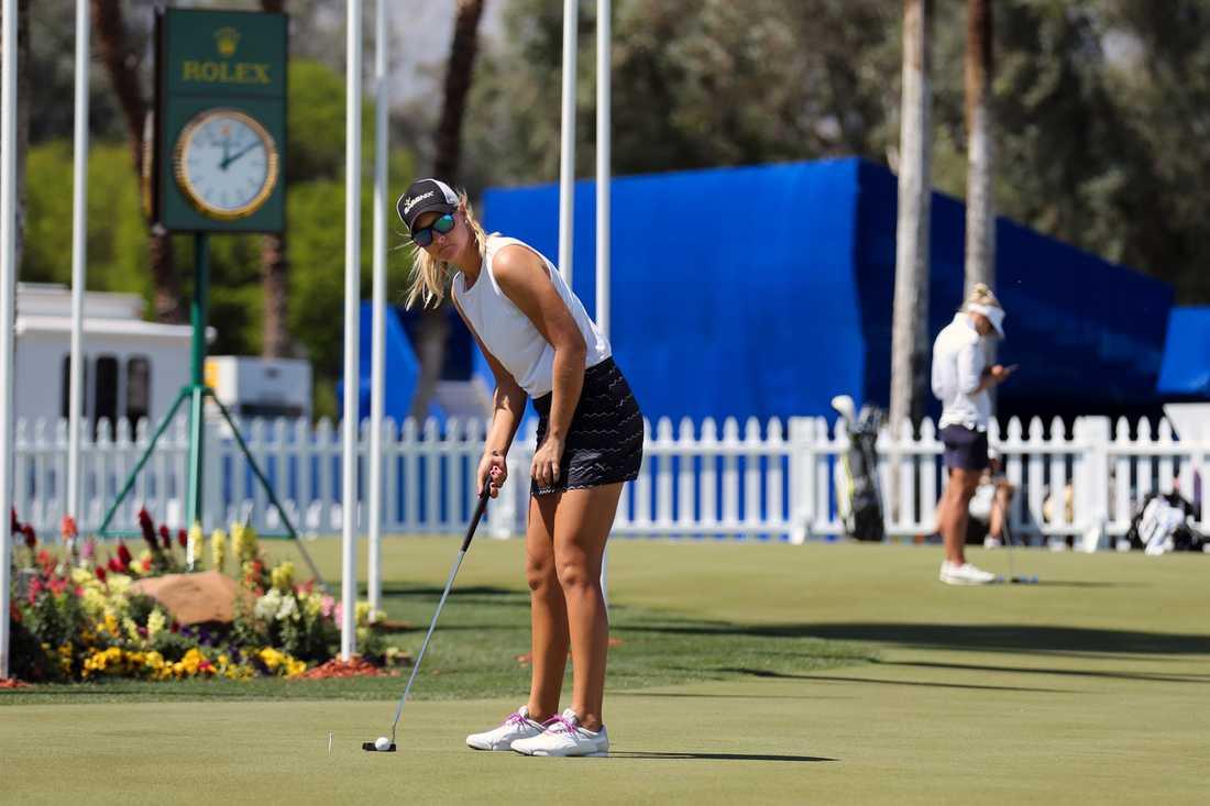 Anna Nordqvist är i bra form inför årets första major.