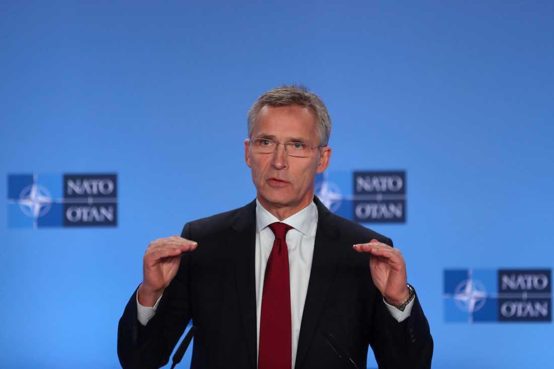 Natos generalsekreterare Jens Stoltenberg. Arkivfoto.