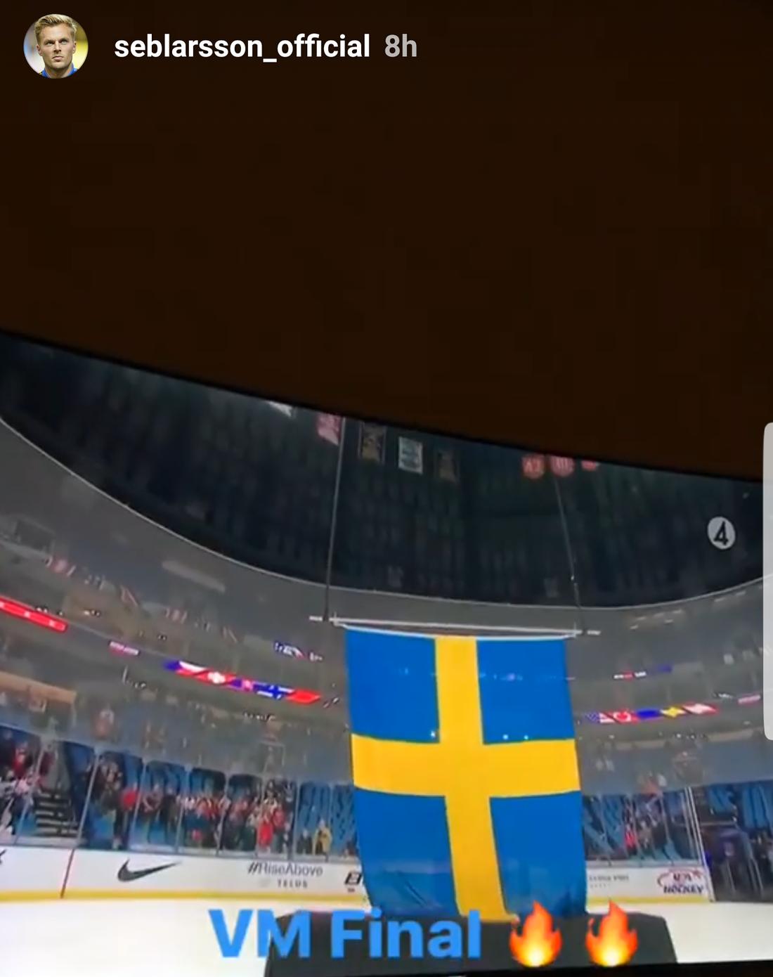 Sebastian Larsson kollade.