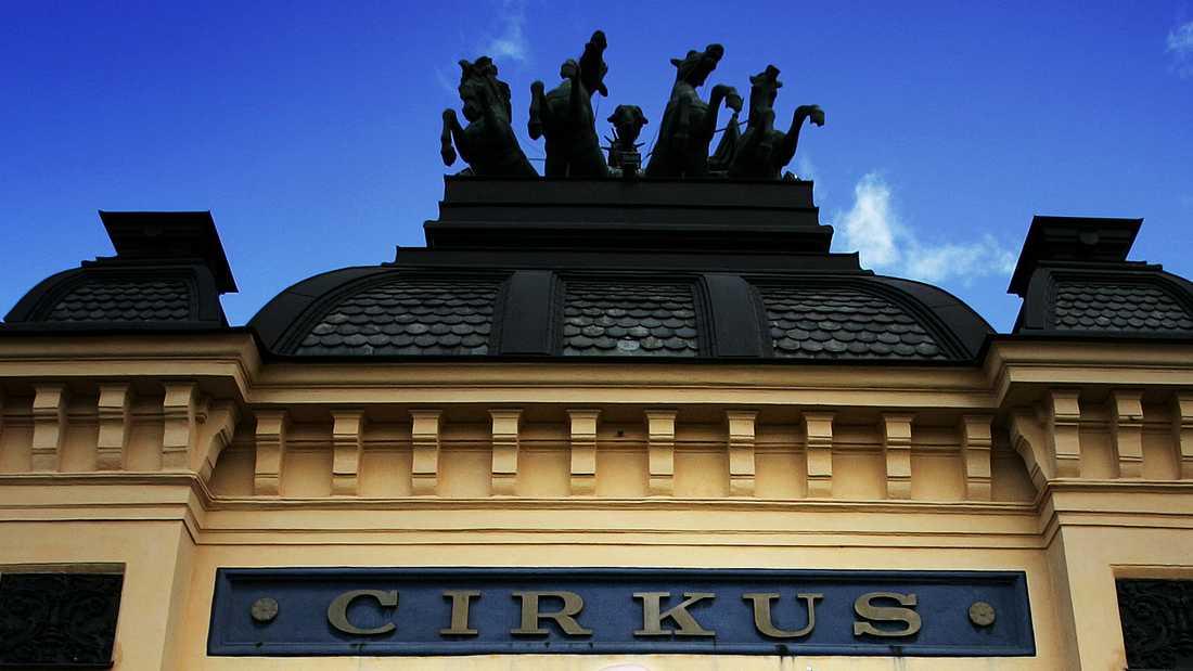 Cirkus på Djurgården i Stockholm.
