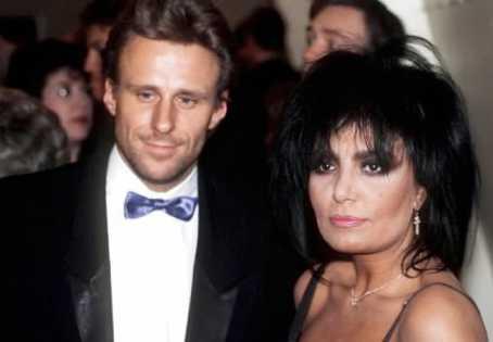 Björn Borg och Loredana Berté 1988.