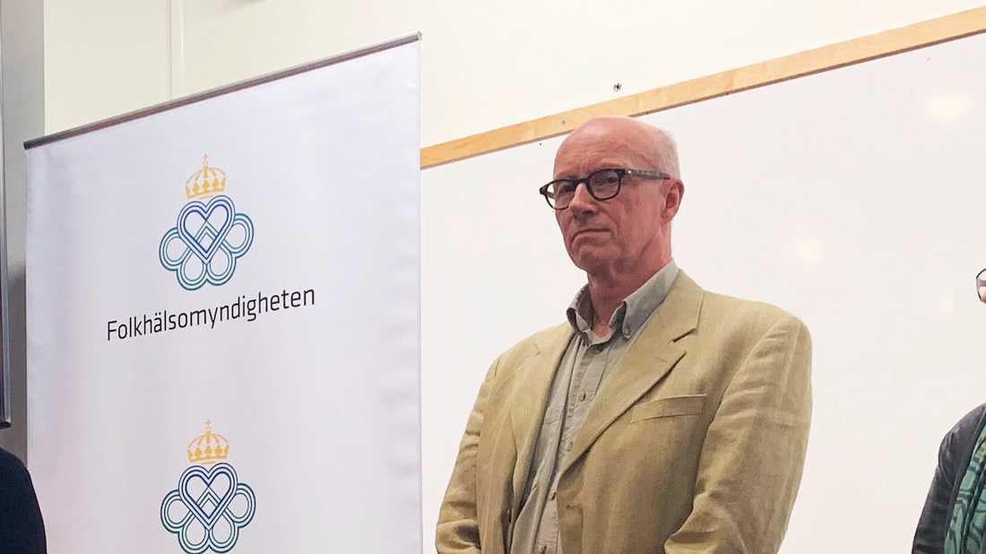 Per Follin är smittskyddsläkare och avdelningschef vid Smittskydd Stockholm. Arkivbild.