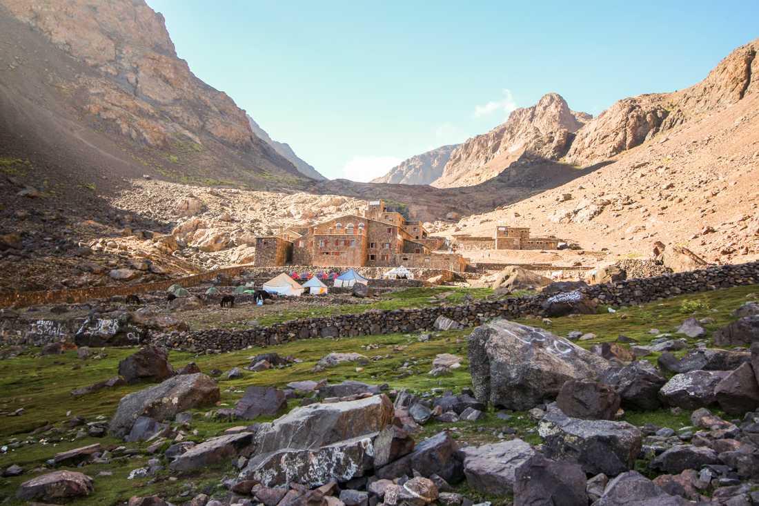 Kvinnorna mördades i Atlasbergen i Marocko förra året. Arkivbild.