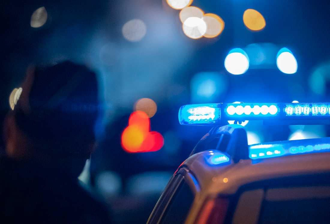 Polisen utreder mord i Norrtälje. Arkivbild.
