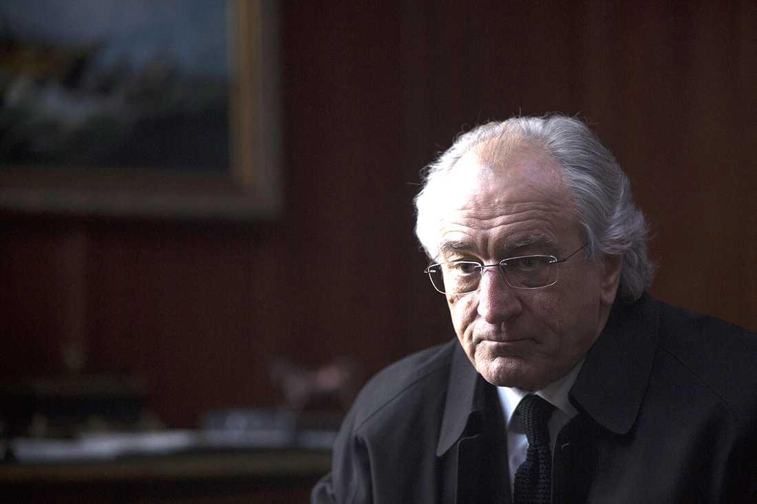"""Robert De Niro i """"The wizard of lies""""."""
