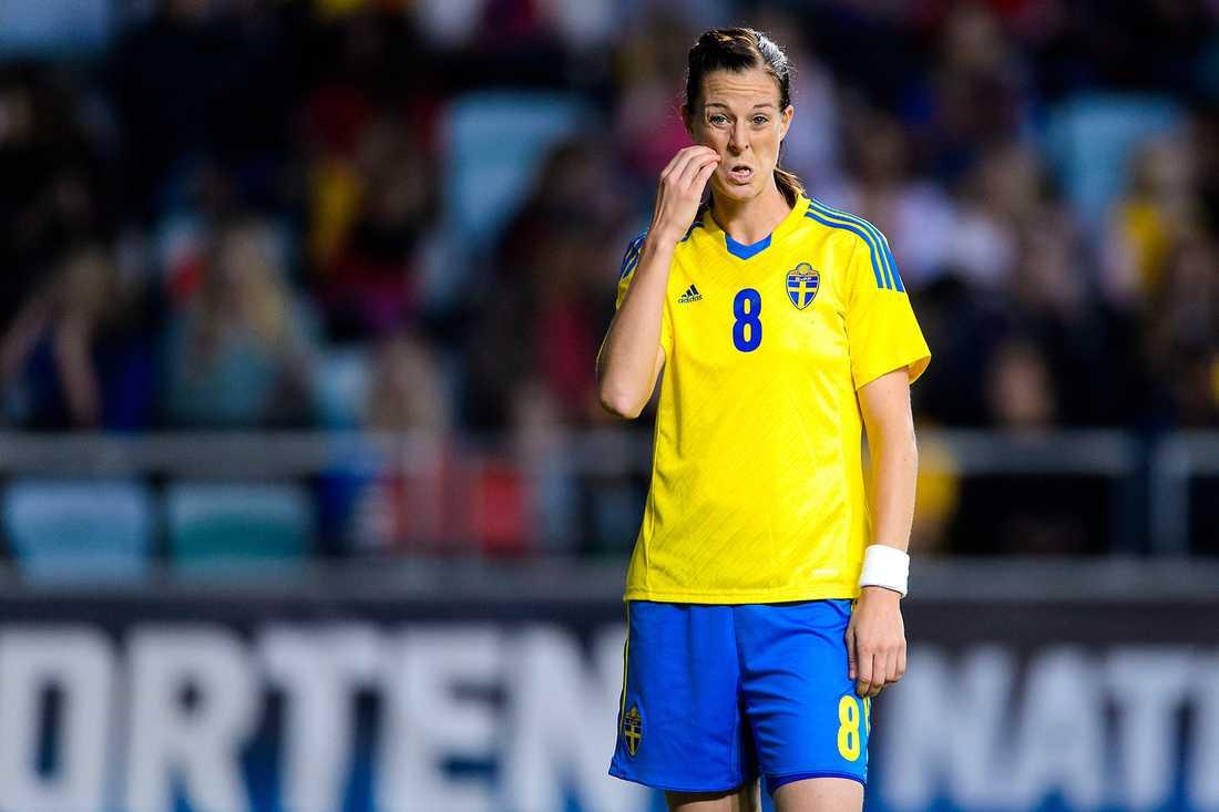 Nja, Lotta Schelin – enligt oddsen åker Sverige ut i kvartsfinal i dam-VM.