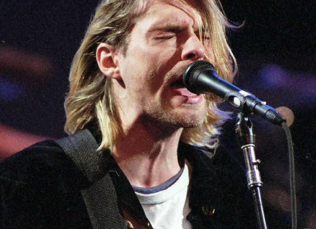 Kurt Cobain (1967-1994), sångare och frontfigur i Nirvana.