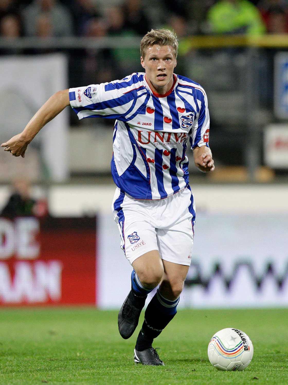 Viktor Elm i Heerenveen-tröjan.
