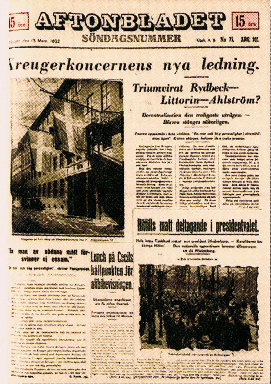 1932: KREUGERKRASCHEN
