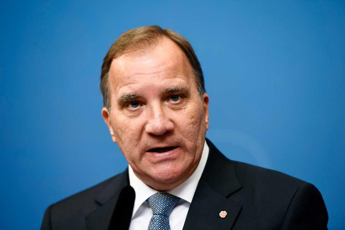 S-ledaren Stefan Löfven försöker pussla ihop en mittenregering. Arkivbild.