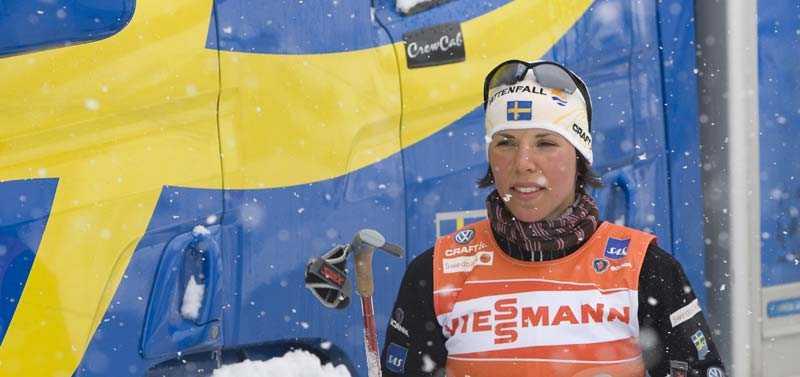 VILAR I PREMIÄREN Charlotte Kalla, 21, står över första VM-loppet.