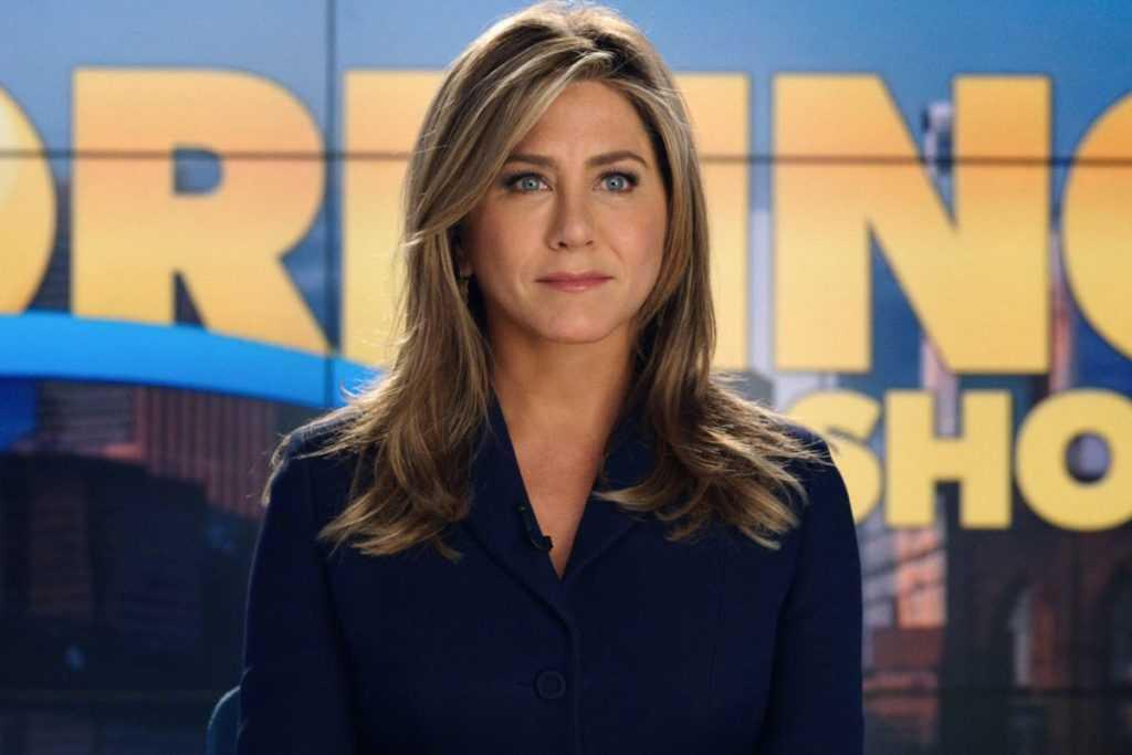 """Jennifer Aniston i """"The Morning Show""""."""