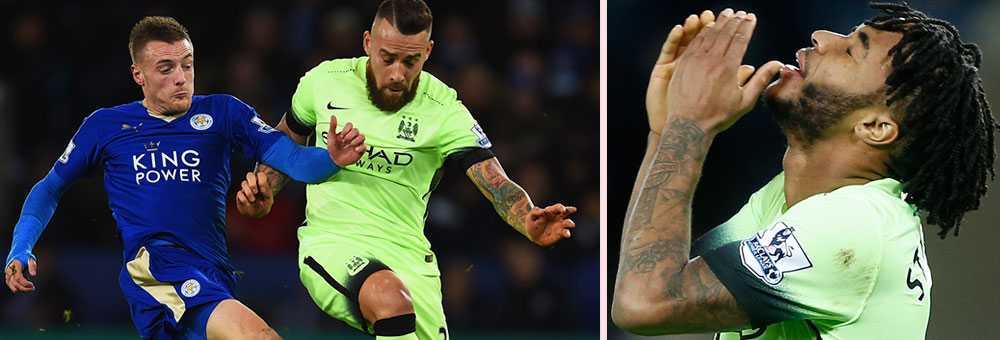 Leicester spelade lika mot Manchester City
