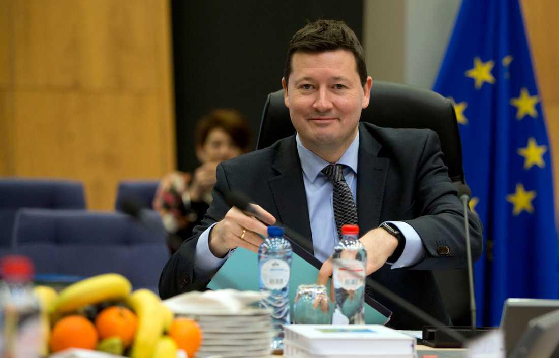 Tyske Martin Selmayr utsågs i våras till generalsekreterare i EU-kommissionen. Arkivfoto.