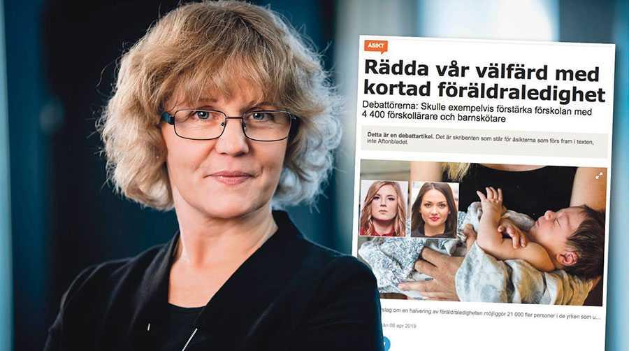 Ett alternativt och bättre räkneexempel vore att räkna på hur många fler kvinnor som skulle kunna gå till jobbet om män tog halva föräldraledigheten, skriver Åsa Forsell.